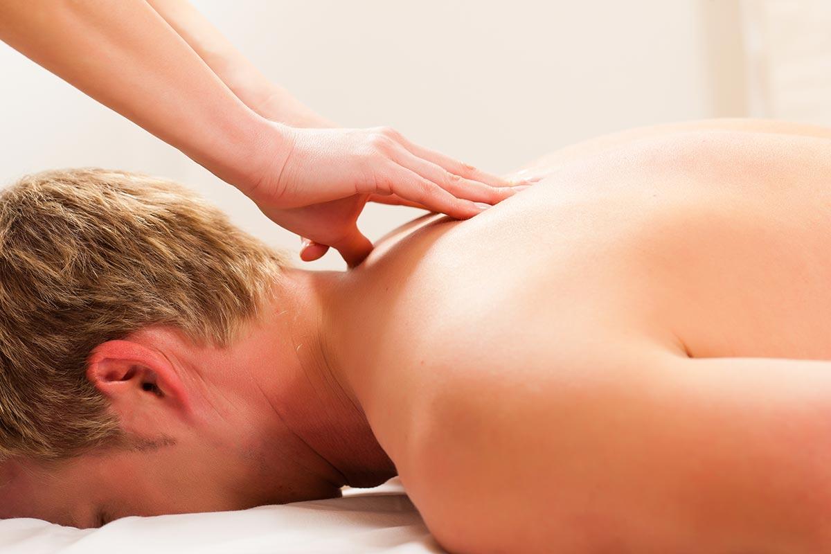 Neck, back and shoulder massage in Watford