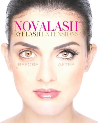 Novalash eyelash extensions Watford